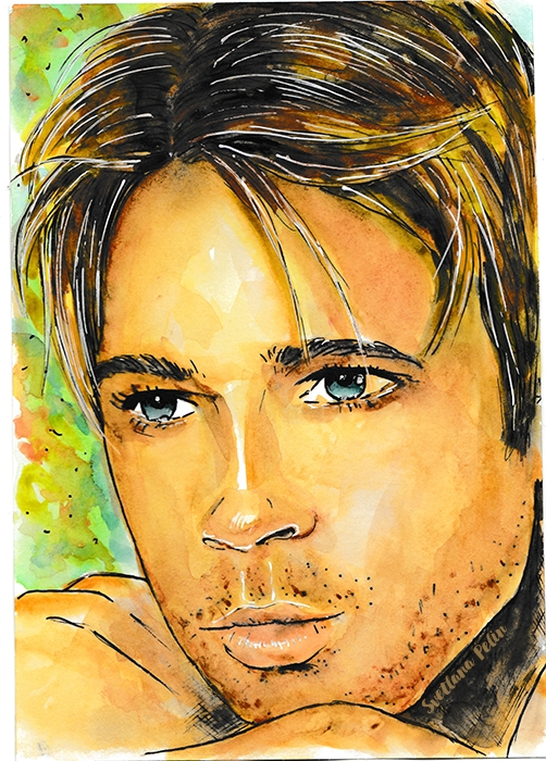 Brad Pitt by svetliaciok